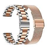 TRUMiRR Compatible avec Galaxy Watch 42mm/Galaxy Watch Active/Gear Sport Bande de...