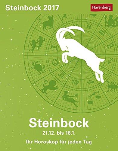 Steinbock - Kalender 2017: Ihr Horoskop für jeden Tag