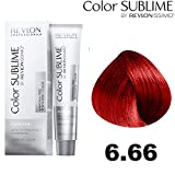 Revlon Color Sublime by Revlonissimo Coloration - Tube de 75 ml - Nuance :   6.66 Blond foncé rouge intense