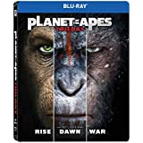 Planet of the Apes: Trilogy - Rise of the Planet of the Apes + Dawn of the Planet of the Apes + War for the Planet of the Apes