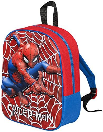 Imagen de niños niñas character  niños almuerzo de vuelta a la escuela libro bolsa viaje  guardería spiderman  3d