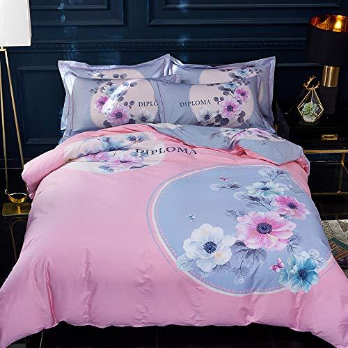yaonuli Textiles para el hogar de algodón de Alta Gama de Cuatro...