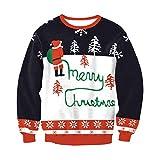 Soupliebe Damen Christmas Printed Hoodies Sweatshirt Weihnachten Damen Tops Jumper Pullover Kapuzen Langarmshirt Sweatjacke Kapuzenpullover