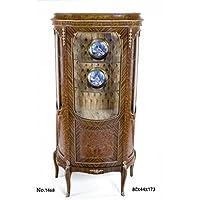 Comparador de precios Casa-Padrino Baroque Living Room Cabinet 80 x 44 x H. 173 cm - Display Cabinet - precios baratos