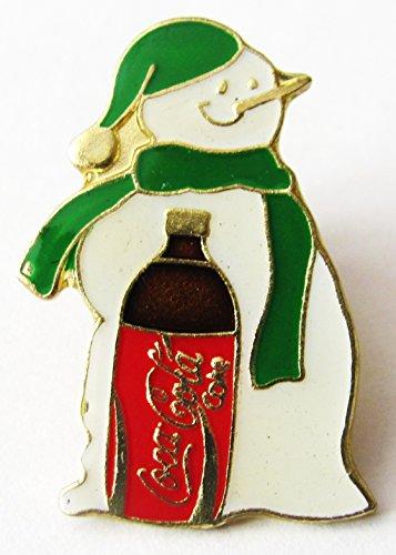 Coca Kostüm Cola Flasche - Coca Cola - Schneemann & Flasche - Pin 25 x 18 mm