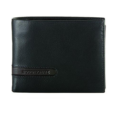 Bodenschatz Catania 8-287 CA 01 Herren Geldbörsen 13x10x2 cm (B x H x T) Schwarz (Black 001)