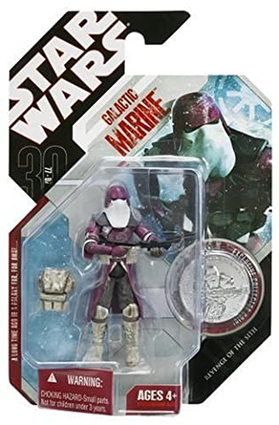 Star Wars - Revenge Of The Sith - GALACTIC MARINE mit Collector Coin - 30th Anniversary Wave - Hasbro