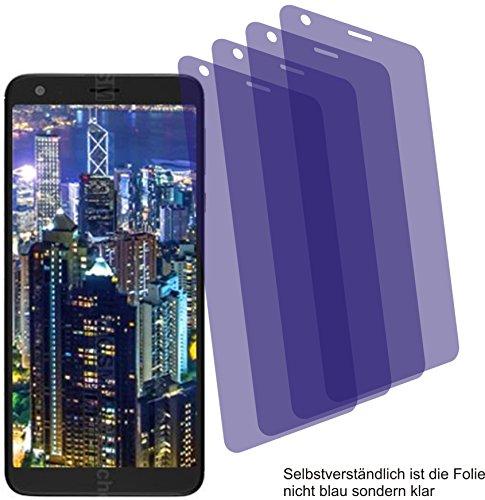 4X Crystal Clear klar Schutzfolie für Sharp B10 Displayschutzfolie Bildschirmschutzfolie Schutzhülle Displayschutz Displayfolie Folie
