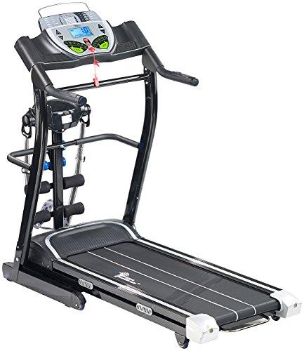 newgen medicals Laufband elektrisch, mit Fitness-Station Abbildung 3