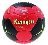 Kempa Bälle SPECTRUM SYNERGY PLUS, schwarz/rot/limonengelb, 0, 200187901
