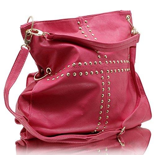 Jennifer Jones 3981, Borsa a mano donna Pink