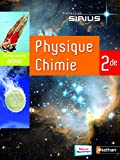 Physique Chimie 2e : Livre de l'élève