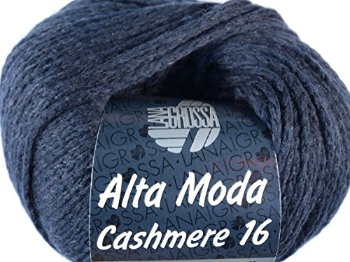 Lana Grossa Alta Moda Cashmere 16 011 Nachtblau 50g
