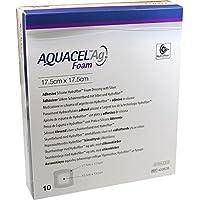 AQUACEL Ag Foam adhäsiv 17,5x17,5 cm Verband 10 St Verband preisvergleich bei billige-tabletten.eu