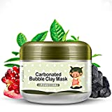 MLMSY Deep Cleansing Carbonated Bubble Clay Mask Replenishment and Moisturizing Mud Mask for Facial Treatment Detoxing