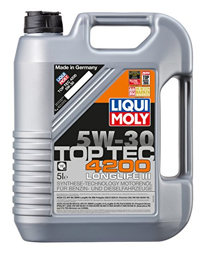 Liqui Moly 3707 - Olio motore Top Tec 4200, 5 W-30, 5 lit