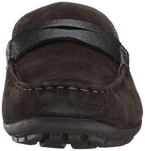 Geox U W Monet 2FIT E Suede Mocassins Chaussures Hommes brown