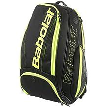 Babolat Pure Bolsas para Material de Tenis, Unisex Adulto, Negro/Amarillo, Talla Única