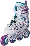Roller Derby Girl's Stinger 5.2 Adjustable Inline Skates, Small, US 12-2