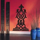 INDIGOS UG - WANDTATTOO/Wandsticker/Wandaufkleber/Aufkleber/Wandsticker w294 Ornament, Orient Wandaufkleber/Aufkleber 120x71 cm flieder