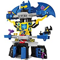 Imaginext Batman, Batcueva transformable, Juguete para niño +3 años (Mattel DNF93)