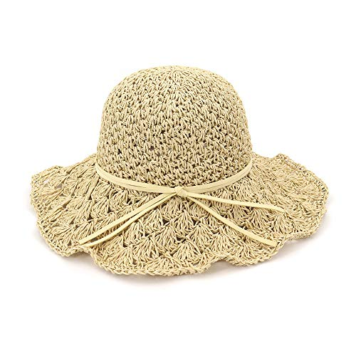 trandhut der Sommerküstenreise, Faltbarer Mann- und Frauensonnenschutzfischerhut, beige ()