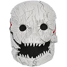 Cosplay DD Harz Maske Schrecklich Halber Kopf Helm Für Karneval Halloween Kostüm Erwachsene Spiel Verrücktes Kleid