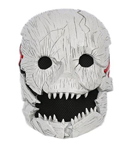 Xcoser Cosplay DD Harz Maske Schrecklich Halber Kopf Helm Für Karneval Halloween Kostüm Erwachsene Spiel Verrücktes Kleid