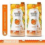 Paper Boat Orange 1L ( Pack of 2)