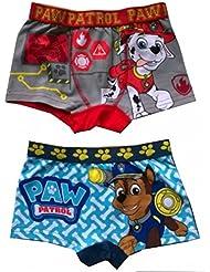 Pat patrouille - Boxer short garçon Pat Patrouille ( lot de 2 ) gris et bleu - 2 / 3 ans ,4 / 5 ans ,6 / 8 ans