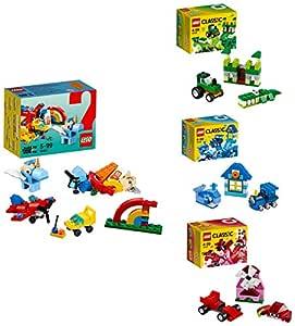 Lego Creativity with Rainbow fun, Multicolour Combo (Pack of 6)