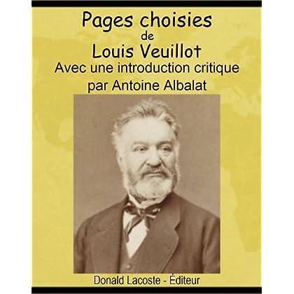 Pages choisies de Louis Veuillot