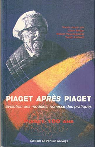 Piaget après Piaget