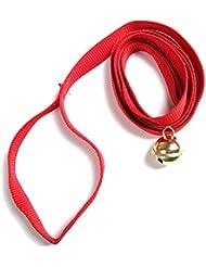 ScSPORTS–Trineo zieh correa con campana en rojo, 10000944
