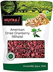 Nutraj American Dried Whole Cranberries 200g