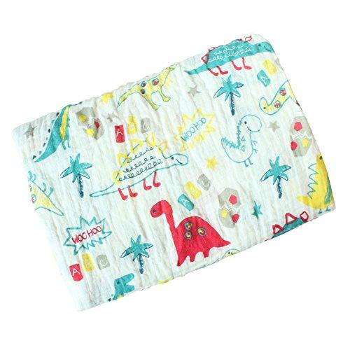Baby Swaddle Blanket, Baywell Baumwolle Baby Gaze Wrap Decke Pucktücher Niedlich Kostüm Fotoshooting (A7(Krokodil))