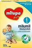 Milupa Milumil Kindermilch 1+ ab 1 Jahr, 4er Pack (4 x 550 g)