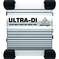 Behringer ULTRA-DI DI100 D.I. BOX attiva multiuso professionale a batterie