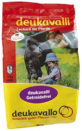 Deukavalli Getreidefrei 5 x 1Kg Leckerlie für Pferde