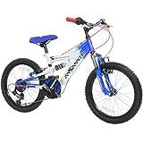 """Concept Assassin Fully - Mountain bike per bambini, 2 misure (18"""" o 20""""), completamente ammortizzata, 4 colori"""