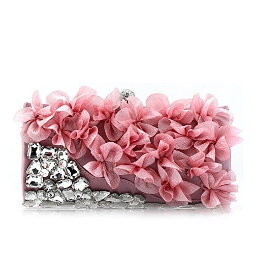 fiori/Pochette/pacchetto Cena/Package banchetto/Strass ladies borsa-D D