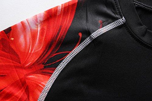 Cody Lundin À manches longues t-shirt serré blanc t-shirt femmes minces sous-vêtements de t-shirt Black-B