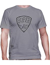 T-shirt para hombre con la impresión del Super Dad .