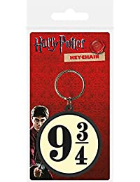 Pyramid International Harry Potter 9 3/4 Rubber Keychain, Multi-Colour, 4.5 x 6 cm