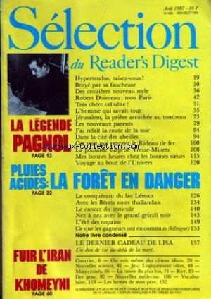 READER'S DIGEST SELECTION [No 486] d...