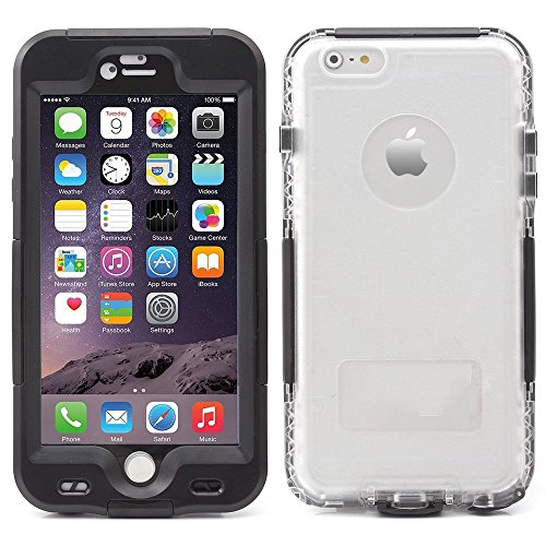 iprotect Apple iPhone 6, 6s (4,7 Zoll) wasserdichtes Outdoor Case Schutzhülle ultradünn in - Handy Iphone Cover Wasserdichte 6