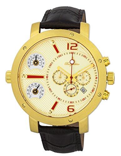 Burgmeister Reloj de caballero de cuarzo (con cronómetro) XL Modesto, BM349-275
