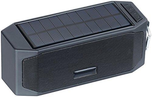 6 10 Meter Iphone Lange Ladegerät (auvisio Solarpowerbank: Solar-Lautsprecher mit Bluetooth-3.0, Freisprecher, Powerbank, 12 Watt (Solar-Powerbank mit Musikplayer))