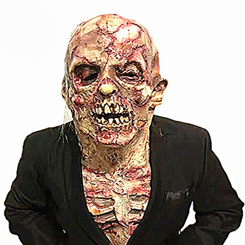 Beauty Court Horror Maske, Zombie Maske, Latex Biochemische -