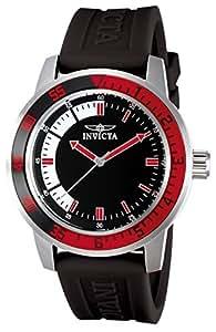 Invicta Specialty Men's Wrist Watch Stainless Steel Quartz Black Dial - 12845